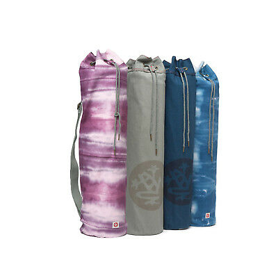 Manduka To & Fro Tie Dye Yoga Fitness Gym Mat Bag Carrier Canvas Cotton Strap