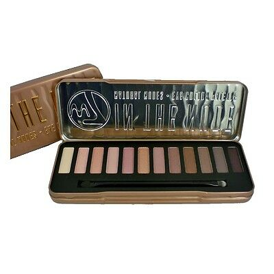 W7 Eye Shadow 12 Colours Pallet 'In The Nude'
