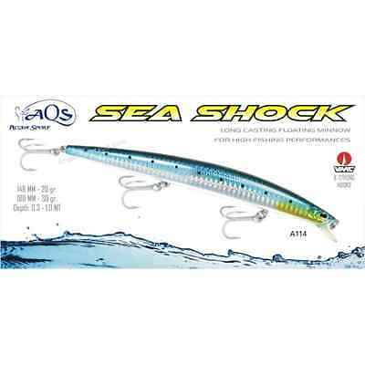 Artificiale Sea Shock 180 Mm Colore A114 Aqs Minnow Spinning Lure Similar Daiwa