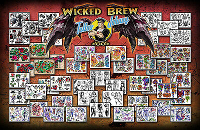 Tattoo Johnny Wicked Brew Flash Collection
