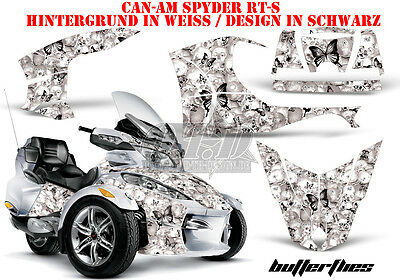 Amr Racing Dekor Graphic Kit Atv Can-Am Spyder Rs,rss, Rt, Rt-S, F3 Butterfly B