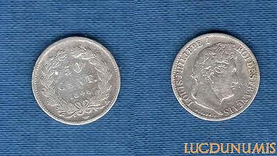 1/2 Franc Louis-Philippe Ier 1846 A Paris TB (1)