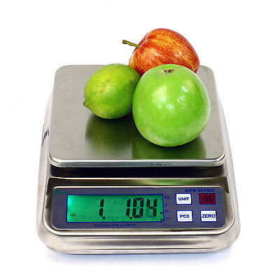 Tree MRW-3 Bench Counting Balance Wash Down Scale 3lb x 0.0001lb LW Measurements