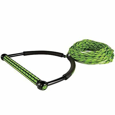 Straight Line TR9 Wakeboard Handle With Static Line - Pick Color