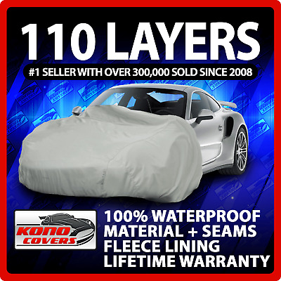 70 Layer Car Cover Outdoor Waterproof Scratchproof Breathable 18 20 30 40 50 60