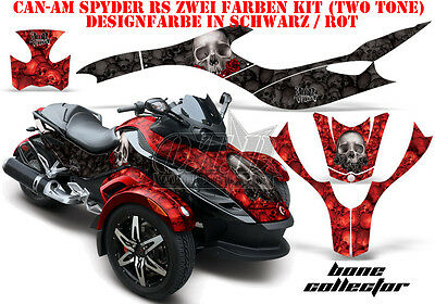 Amr Racing Dekor Graphic Kit Atv Can-Am Spyder Rs, Rt,rt-S, F3 Bone Collector B