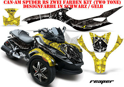 Amr Racing Dekor Graphic Kit Atv Can-Am Spyder Rs,rss, Rt,rt-S, F3  Reaper B