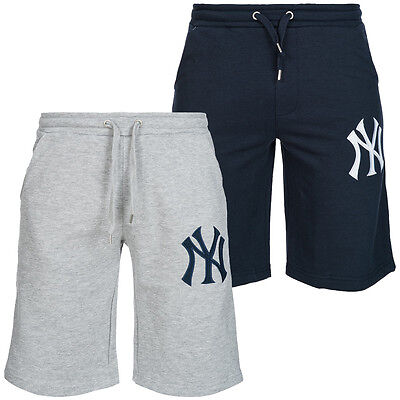 New York Yankees Majestic MLB Boswell Sweat Short Herren Trainingshose neu