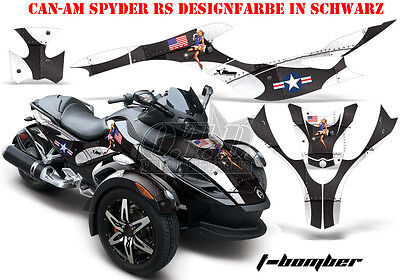 Amr Racing Dekor Graphic Kit Atv Can-Am Spyder Rs, Rss, Rt, Rt-S, F3 T-Bomber B