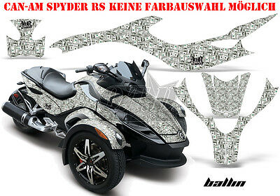 Amr Racing Dekor Graphic Kit Atv Can-Am Spyder Rs,rss, Rt,rt-S, F3  Ballin B