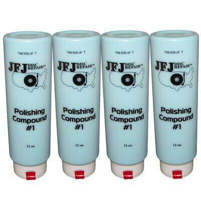4 x JFJ EASY PRO Polishing Compound Solution #1 Blue 12oz