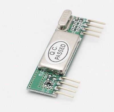 2pcs RXB6 433Mhz Superheterodyne Wireless Receiver Module for Arduino/ARM/AVR