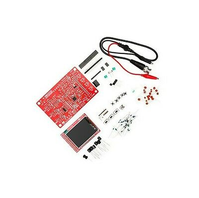 DS0138 Digital Oscilloscope DIY Kit+ Probe Unsoldered  Workshop STM32 200khz
