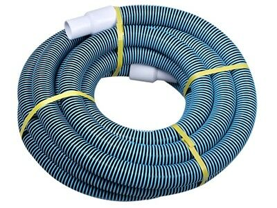 """Swimming Pool Commercial Grade Vacuum Hose 1.25"""" - 20ft length with Swivel End"""