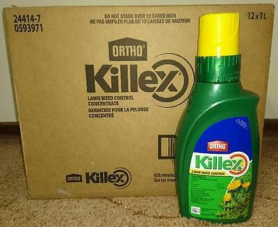12  Bottles (Case)  -  Killex Weed Control - Herbicide - Concentrate - 1 L X 12