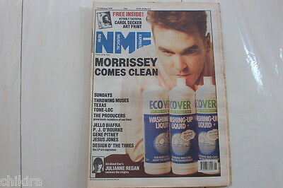 Nme # 11 Feb 1989 Smiths Morrissey Throwing Muses Gene Pitney Texas Tone Loc