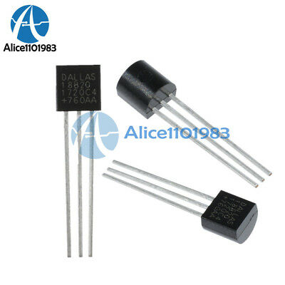 10PCS DALLAS DS18B20 18B20 TO-92 Thermometer Temperature Sensor