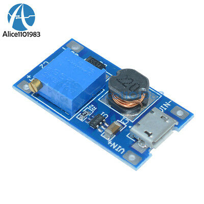 2PCS 2A booster board DC-DC step-up module 2/24V to 5/9/12 / 28V Replace XL6009