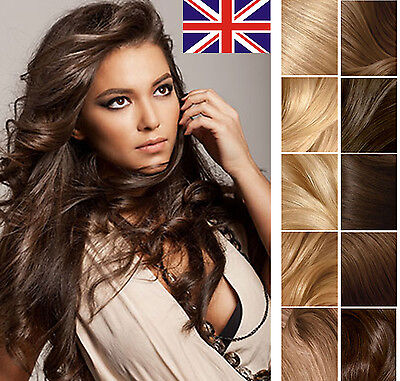 """16"""" 18"""" 20"""" Best Quality Seamlees Tape In 100%  Human Hair Extensions UK"""