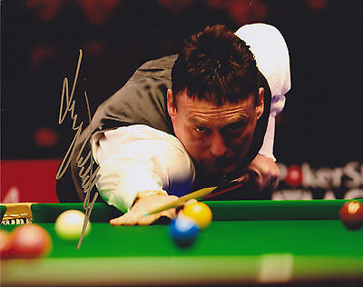Jimmy White HAND SIGNED 8x10 Photo, Autograph, Snooker Legend