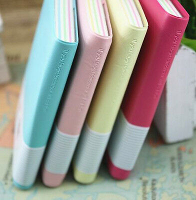 Lovely Diary Notebook Memo Planner Portable Mini Smile Smiley Paper Note Book DM