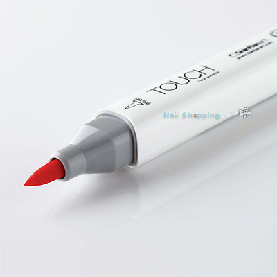 Shinhan Art TOUCH TWIN  BRUSH MARKER Pen single (204 colors) - select one -