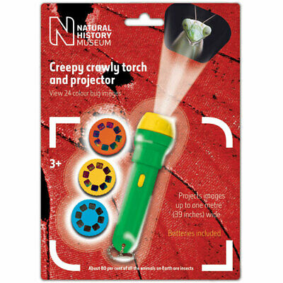 Children's Creepy Crawly Torch & Projector Toy - Project Insect Nature Photos