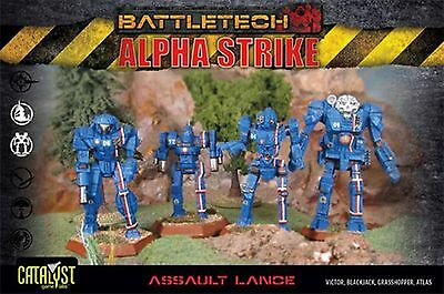 BattleTech Assault Lance Pack (4 Modelle) | EN