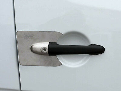 Armaplate Guardian Van Door Lock Cover Protection Plates for VW Crafter (06+ )