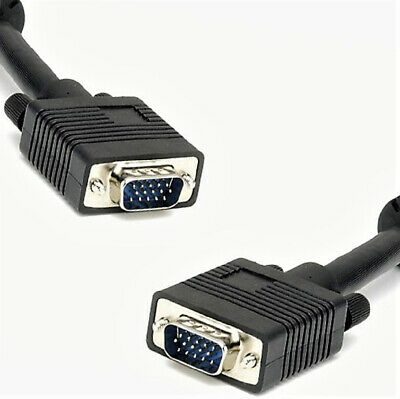 6' ft VGA SVGA Cable M-M PC Video Monitor Projector Display HQ Cord Wire VWLTW