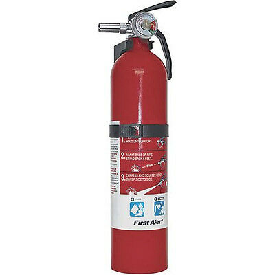 New First Alert FE10GO Garage/Workshop Fire Extinguisher, Red