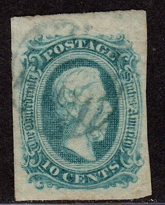 $ CSA SC#11c used, VF, greenish blue, light cancel, CV. $25