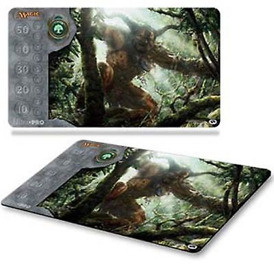 Ultra Pro Magic the Gathering Green Playmat Mana 3 Free Ship MTG Play mat 82874