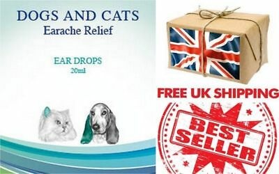 Earache relief  dog & cat ear cleaning solution