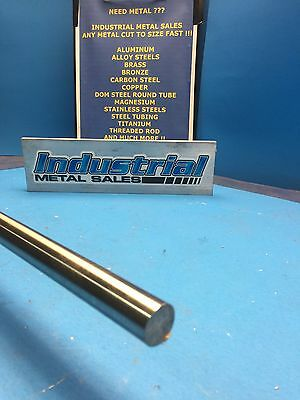 "1045 Precision Shaft Steel Round Bar 1/2"" Dia x 12""-Long T G&P"