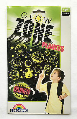 NEW Glow Zone Planet Stickers - Over 120 Glow in the Dark Stickers