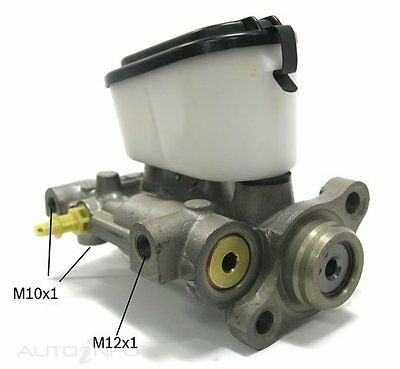 Bosch Brake Master Cylinder for HOLDEN COMMODORE 4D Sdn RWD VB, VC, VH, VK 78~87