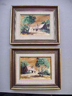 T.Foreshaw Bush House Framed oil painting.