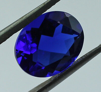 Tanzanite 2.50 Ct. Oval Shape 9X11 Mm Size Faceted Cut Exotic Blue Gemstone