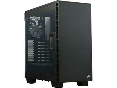 Corsair 400C Black Steel ATX Mid Tower Computer Case ATX (not included) Power Su