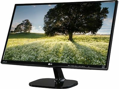 "LG 24MP48HQ-P Full HD IPS 23.8"" Monitor 5ms 1920 x 1080 ,Flicker Safe Black Stab"