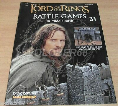 LORD OF THE RINGS Battle Games in Middle-earth Magazine Issue 31