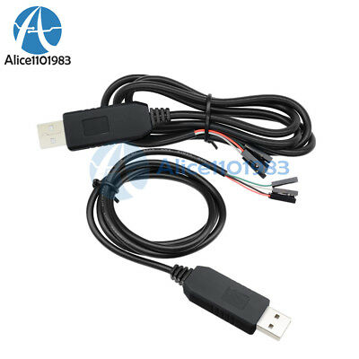 USB To RS232 TTL UART PL2303HX Auto Converter  USB to COM Cable Adapter Module