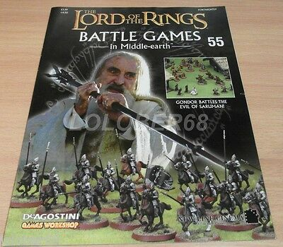 LORD OF THE RINGS Battle Games in Middle-earth Magazine Issue 55