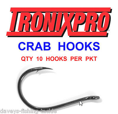 Y 2 packs of 10 x  Hook size 2 Crab hooks Tronix Hooks