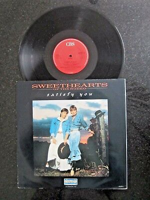 "Sweethearts Of The Rodeo ""satisfy You"" Uk 12"""