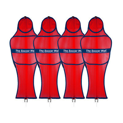The Soccer Wall Club Set - Free Kick Training Mannequins