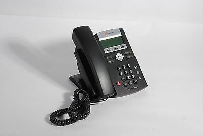 Lot of 4 Polycom SoundPoint IP 320 SIP Phones - No Power Supplies