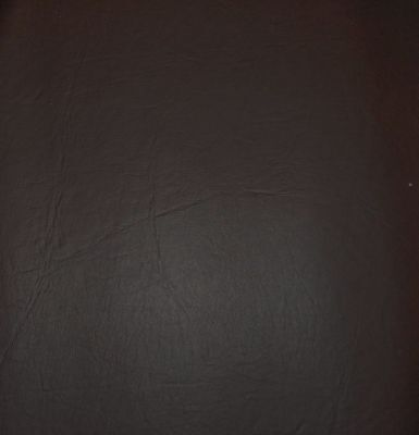 """Synthetic Leather Vinyl Upholstery Fabric 54"""" W Midnight Brown Sold by the Yard"""