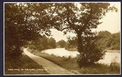 J249...    Nairn. By The River. Scotland     Judges' Postcard  No.11355